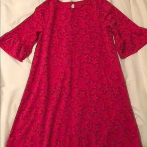 Lands End 3/4 length sleeve dress